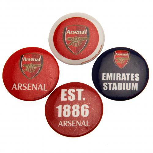 Arsenal F.C. Button Badge Set