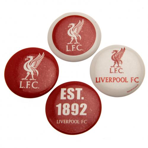 Liverpool F.C. Button Badge Set