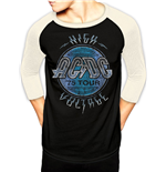 AC/DC - High Voltage - Unisex Baseball Shirt Black