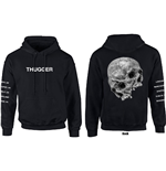 Young Thug Men's Pullover Hoodie: Skull Date
