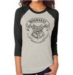 Harry Potter Baseball Long Sleeve Shirt Hogwarts