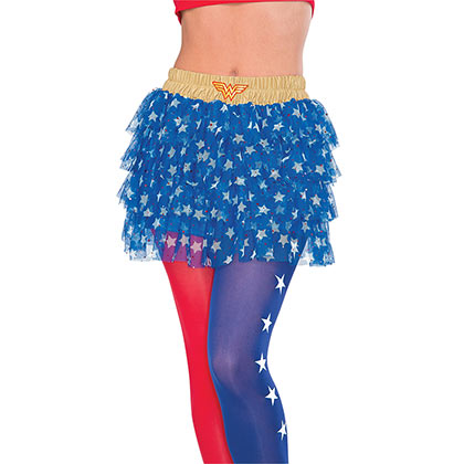 WONDER WOMAN Blue Skirt