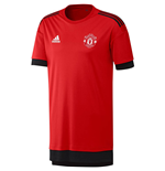 2017-2018 Man Utd Adidas UCL Training Shirt (Red)