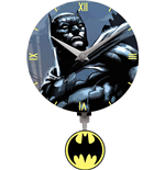 Batman 3D Mini Motion Wall Clock Swinging Logo