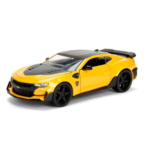 Transformers The Last Knight Diecast Model 1/24 Bumblebee Chevrolet Camaro