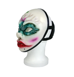 PAYDAY 2 Replica Old Clover Face Vinyl Cosplay Mask with Backstrap, One Size, Multi-Colour