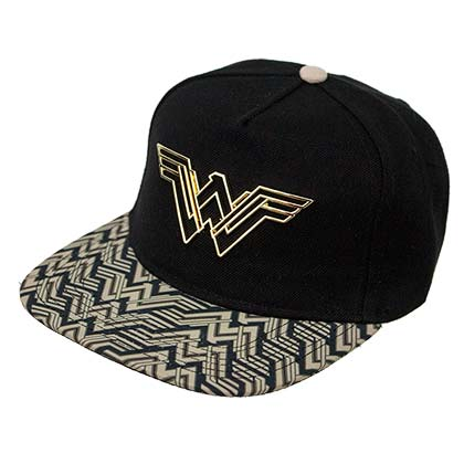 WONDER WOMAN Movie Logo Snapback Hat