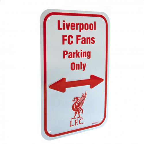 Liverpool F.C. No Parking Sign OB