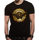 Justice League Movie - Wonder Woman Symbol - Unisex T-shirt Black
