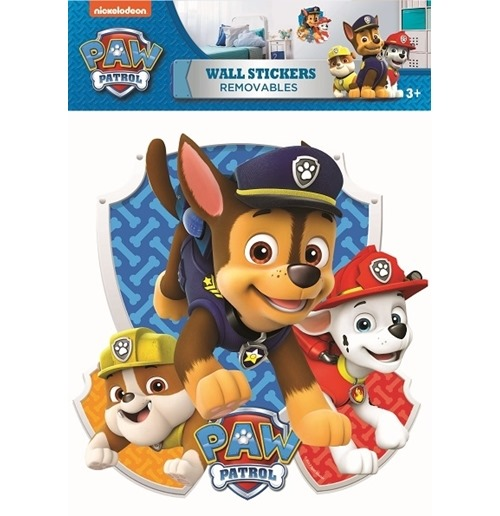 paw patrol wall stickers 274555 for only at. Black Bedroom Furniture Sets. Home Design Ideas