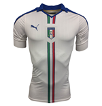 2015-2016 Italy Authentic ACTV Away Puma Football Shirt