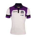 2017-2018 Scotland Macron Away Womens Cotton Rugby Shirt