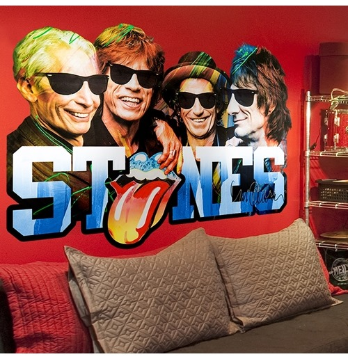 The Rolling Stones Wall Stickers 274633