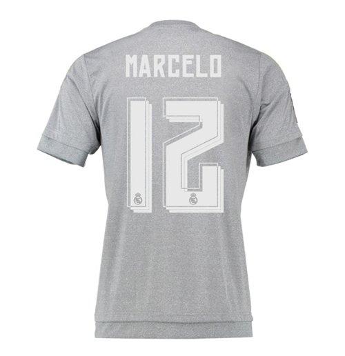 size 40 0b860 bb3d1 2015-16 Real Madrid Away Shirt (Marcelo 12) - Kids