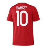 2016-17 Wales Home Shirt (Ramsey 10)