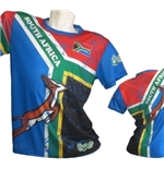 South Africa Rugby 2017 Full Print T-shirt