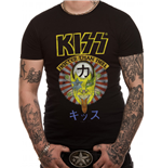 Kiss - Hotter Than Hell Japan - Unisex T-shirt Black
