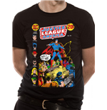 Justice League - Superman Speech - Unisex T-shirt Black