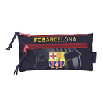 Barcelona FC pencil case with 2 zippers 2015
