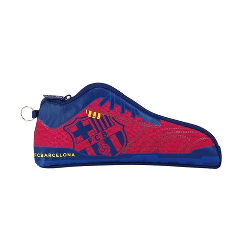 Barcelona FC pencil case boot Red