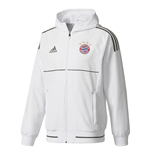 2017-2018 Bayern Munich Adidas Presentation Jacket (White)
