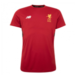 2017-2018 Liverpool Elite Motion Training Shirt (Red) - no sponsor
