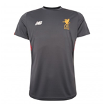 2017-2018 Liverpool Elite Motion Training Shirt (Thunder) - no sponsor