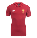 2017-2018 Liverpool Media Motion Polo Shirt (Red) - no sponsor