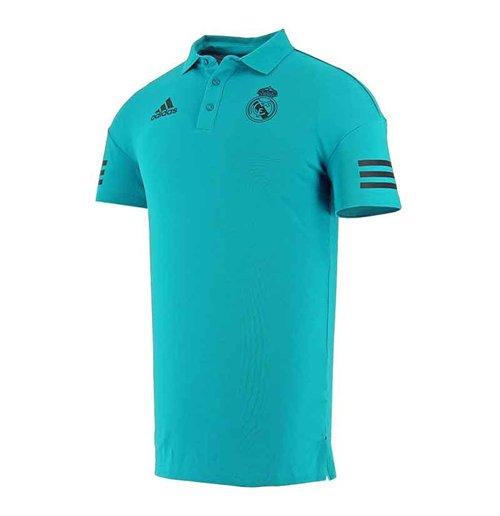 Shirtvivid Teal Eu Polo Madrid 2018 Real Adidas 2017 rdsChtQ