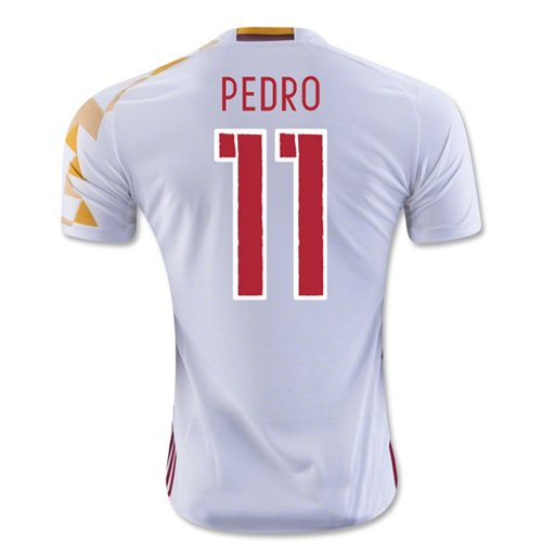 2016-2017 Spain Adidas Away Shirt (Pedro 11)