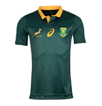 2017-2018 South Africa Springboks Home Test Rugby Shirt