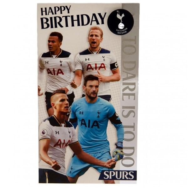 Tottenham Hotspur F.C Musical Birthday Card