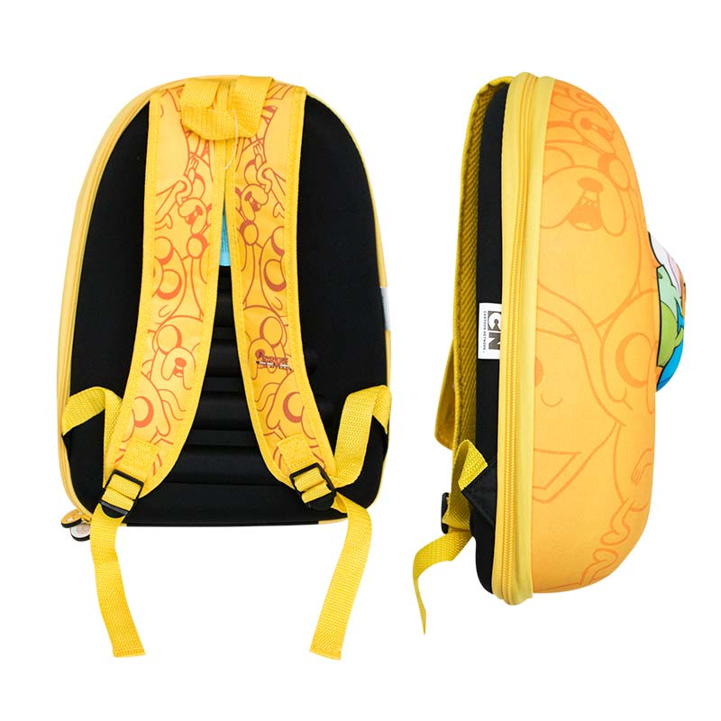 ADVENTURE TIME Finn And Jake Bubble Yellow Backpack
