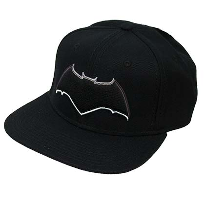 BATMAN Embroidered Logo Snapback Hat