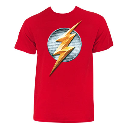 Justice League FLASH Red Tee Shirt