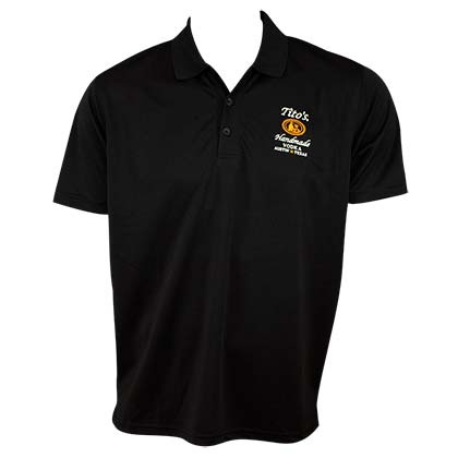 TITO'S VODKA Black Polo