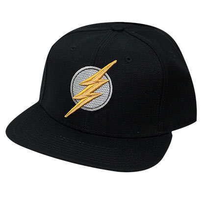 The FLASH Embroidered Logo Snapback Hat