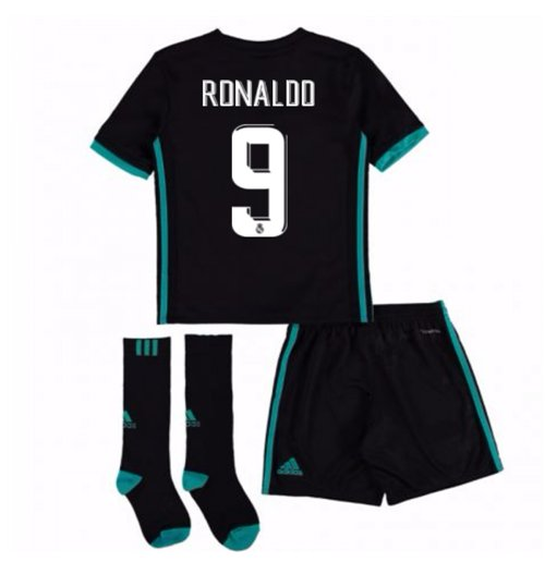 new style 831ac 23ae7 2017-18 Real Madrid Away Full Kit (Ronaldo 9)