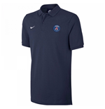 2017-2018 PSG Nike Core Polo Shirt (Navy)