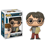 Harry Potter POP! Movies Vinyl Figure Harry Potter with Marauders Map 9 cm