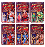 Street Fighter II ReAction Action Figures 10 cm Wave 1 Assortment (6)