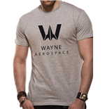 Justice League Movie - Wayne Aerospace - Unisex T-shirt Grey