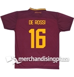 AS Roma Home 2017/2018 Replica Jersey De Rossi 16