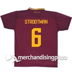 AS Roma Home 2017/2018 Replica Jersey Strootman 6