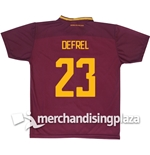 AS Roma Home 2017/2018 Replica Jersey Defrel 23