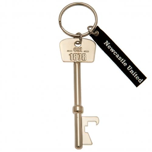 Newcastle United F.C. Bottle Opener Keyring Key