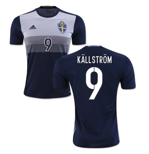 2016-2017 Sweden Away Shirt (Kallstrom 9)
