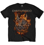 Disturbed Men's Tee: Burning Belief
