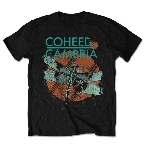 Coheed And Cambria Men's Tee: Dragonfly