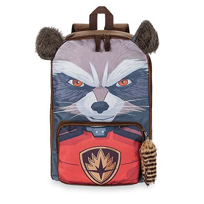 GUARDIANS OF THE GALAXY Rocket Raccoon 3D Backpack